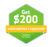 Huntington Bank $200 Bonus