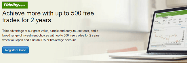 Ira Investment Choices Fidelity >> Fidelity Ira Or Brokerage Account Bonus 2 Years Of Free Trades