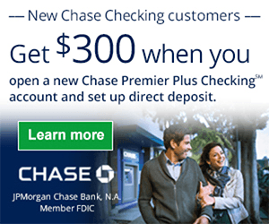 Chase Premier $300 Coupon