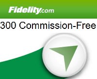 Fidelity 300 Free Trades