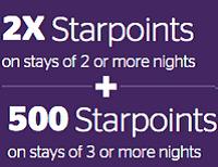 Starwood Bonus Starpoints