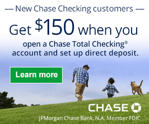 Chase $150 Coupon