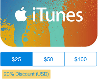 how to add money to itunes with gift card