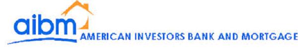 American Investors Bank and Mortgage