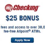 New Capital One 360 $25 Checking Referral Bonus