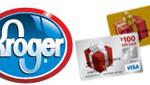 Kroger No Fee MasterCard VISA Gift Cards Promotion