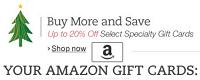 Amazon Credit Bonus Select 50 Gift Cards