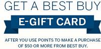 American Express $300 Best Buy eGift Card