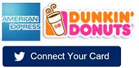 Amex Dunkin' Donuts Twitter Sync