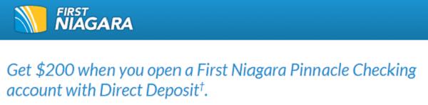 First Niagara Bank Bonus