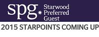 Starwood 2,015 SPG Bonus Points