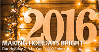 Voila Hotel 1000 Free Points