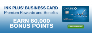 New Chase Ink Plus Business Review 60 000 Bonus Points