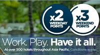 AccorHotels 2x Extra Points On Weekday Stays Promotion
