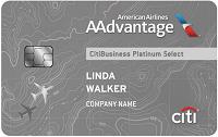 CitiBusiness AAdvantage Platinum Select