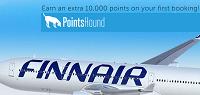 PointsHound 10,000 Finnair Points Bonus