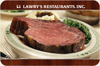 Amex Offers Lawry's The Prime Rib $30 Statement Credit