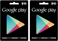 BJs Wholesale Club Google Play $20 Gift Card