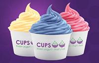 Cups Frozen Yogurt