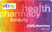 Ebay Discounted CVS Gift Cards Promotion