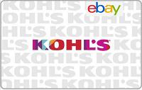 Ebay Kohl's $50 Giftcard Free $10 Bonus Promotion