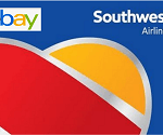 Ebay Southwest Airlines Gift Card: $15 Off $150 Promotion