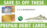 Kroger Save $1 Off Any Reloadable Debit Card