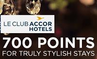 Le Club AccorHotels Earn 4,900 Bonus Points