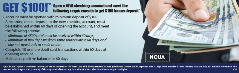 Members Source Credit Union Promotions