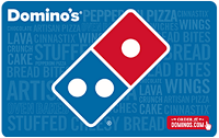 Newegg Domino's Pizza $50 Gift Cards $10 Off Promotion