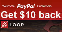Paypal Loopgift.com $10 Credit Promotion