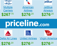 Priceline Cheap Roundtrip Non-Stop New York NYC - San Francisco SFO