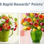 Southwest 1800flowers.com 1,000 Rapid Rewards Bonus