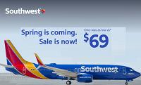 Southwest Spring Sale 2016