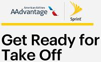 Sprint Awards AAdvantage Miles Bonus