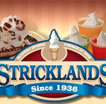Strickland's Ice Cream Birthday Freebie Review: Free dirt sundae