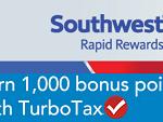 TurboTax 1,000 Rapid Rewards Bonus Points