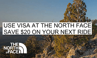 Uber The North Face $20 Credit Bonus