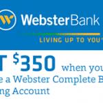 Webster Bank Review: $350 Complete Business Checking Bonus