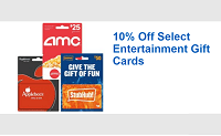Best Buy Select Entertainment Gift Cards Promotion