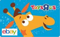 eBay Toys R Us Gift Card Deals