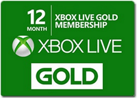 Groupon Discounted Xbox Live Gold 12-Month Membership