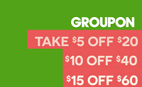 Groupon Local Deals Promotional Discount TAKEOFF