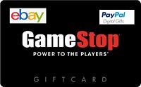 Paypal Digital Gifts Free $10 Bonus GameStop $50 Gift Card