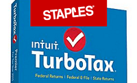 Staples turbotax coupon
