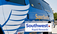SuperShuttle Rapid Rewards Bonus Points