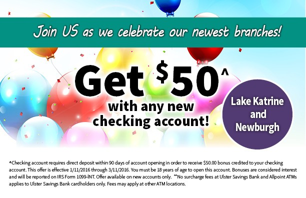 Ulster Savings Promotion