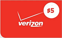 Verizon Wireless Free $5 Gift Card Smart Rewards
