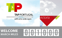 Victoria TAP Portugal 1,000 Free Miles Program