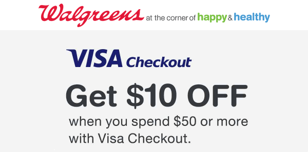 Walgreens Visa Checkout